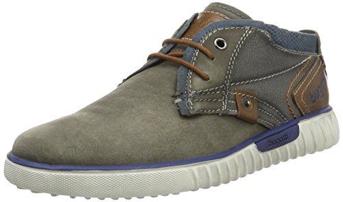 Bugatti Unisex Lace up Shoes Grey Size 10.5 M US -  Bullboxer, K3732PR58_grau/braun 142