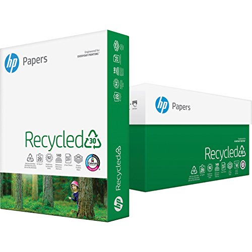 HP 112100RM Recycled Paper,20 lb,92 GE/102 ()
