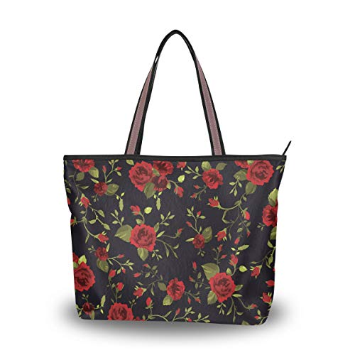 Women's Soft Tote Shoulder...
