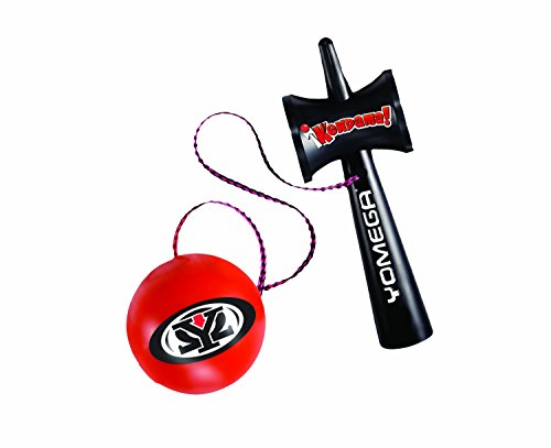 Yomega Kendama - The Traditional Japanese Toss and Catch Skill Toy made of durable plastic.  Colors may vary. from Yomega