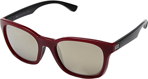 Ray-Ban  Men's 0RB4197 Red Sunglasses
