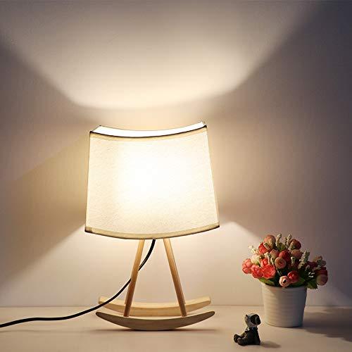Crown Lámpara de mesita de Noche, diseño nórdico Moderno ...