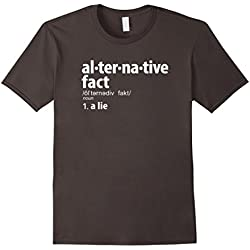 Mens Alternative Facts Definition T-Shirt 3XL Asphalt