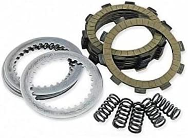 Includes Springs Steel /& Fiber Plates Compatible with Yamaha YFM250 BEAR TRACKER 1999-2003 YFU1W PRO HAULER 1989 Outlaw Racing ORC104 Complete ATV Clutch Repair Rebuild Kit