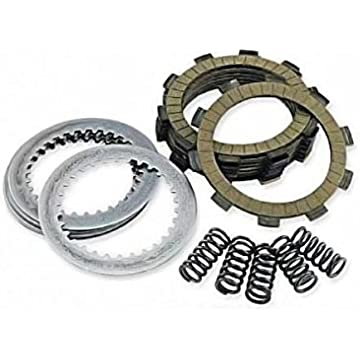 Outlaw Racing ORCS086 Kevlar Complete Clutch Repair Rebuild Kit Includes Springs Steel & Fiber Plates GSXR