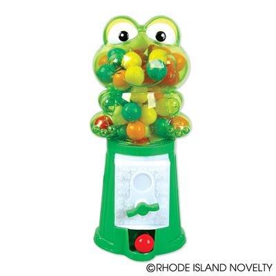 """RIN001 1PC, 7.5"""" Frog Gumball Machine"""