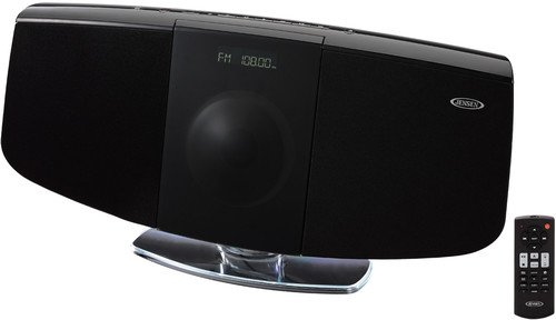 Jensen JBS-350 Wall Mountable Bluetooth Music System with CD