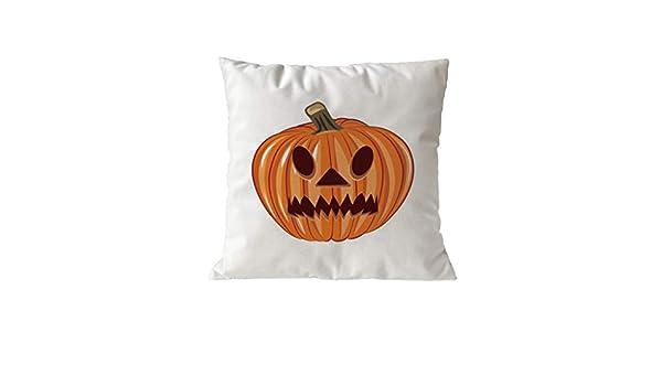 VICKY-HOHO - Funda de cojín para Halloween, decoración del ...