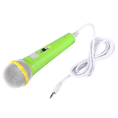 NATRUSS Children Gift Microphone Music Video Storytelling Kids Party Microphone Professional Classic-Style Color Kids Dynamic Microphone for Kids Singing Machine