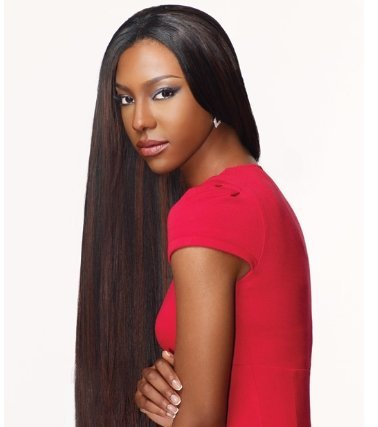 (Goddess Select Remi Human Hair Weave - Yaki Weaving (12 inch, 1B - Off)