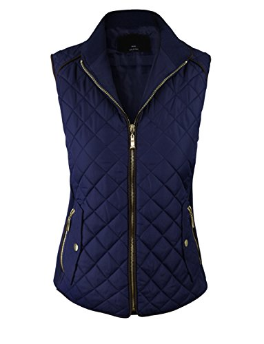 Quilted Sleeveless Vest - 9
