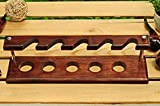 KAFpipeWorkshop Pipe Stand Tobacco Pipe Rack for 5
