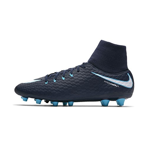 white Phelon Ag Hypervenom Men Boots dark blue blue pro NIKE Df 's 3 Football U7661q