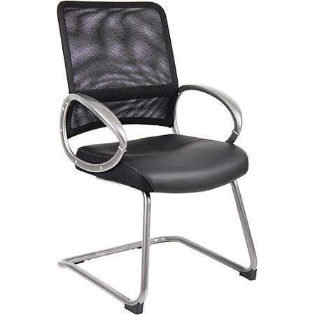 boss-leatherplus-guest-chair-with-loop-arms-black
