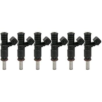 Genuine Set Of 6 Fuel Injectors for BMW 128i 328i X3 X5 Z4 525i 3.0L #7531634