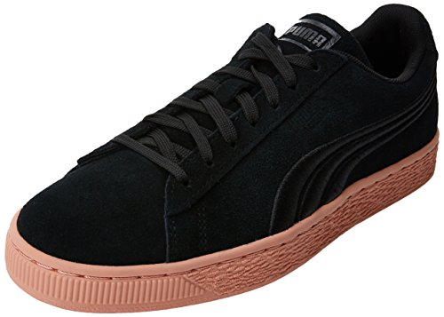 Noir Puma Suede 'Em Basses Badge muted Classic Black Puma Sneakers Flip Mixte Clay Adulte SqwxFFvz