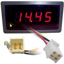 AFR Gauge Air Fuel Ratio Meter w/ DUAL DISPLAY to Narrowband 1-4 wire O2 Sensor GAUGE ONLY