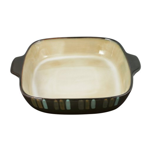 Pfaltzgraff Cayman Square Baker, 3-Quart 3 Quart Stoneware Baker