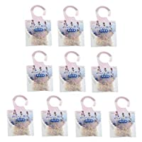 GreatGiftList Set of 10 Sachets - Naturally Scented and Long-Lasting - Premium Scented Sachets Bags Clothes Fragrant for Drawers Closets Room Wardrobe Bathrooms Cars (Lavender)