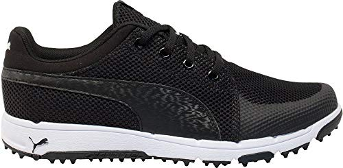 PUMA Mens Grip Sport Tech Golf Shoes 11 Black/White for sale  Delivered anywhere in USA