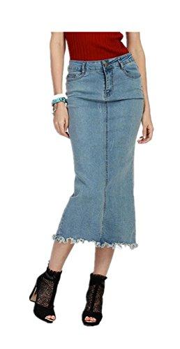 Womens Pencil Waisted Ladies Skirt
