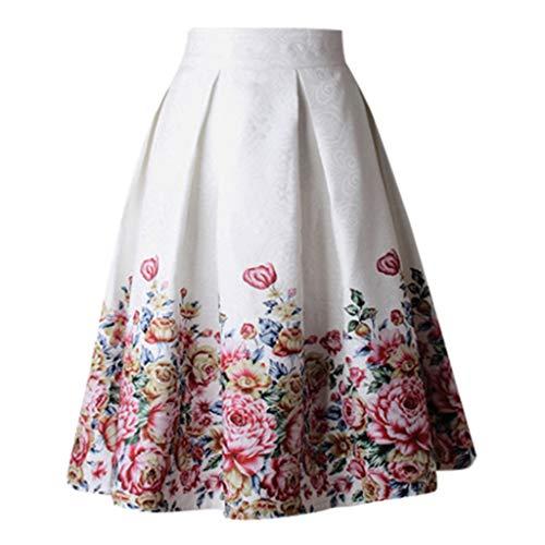 Jiechu Womens Grey Side Zipper Tie Front Overlay Pants Ruffle Skirt Bow Long ()