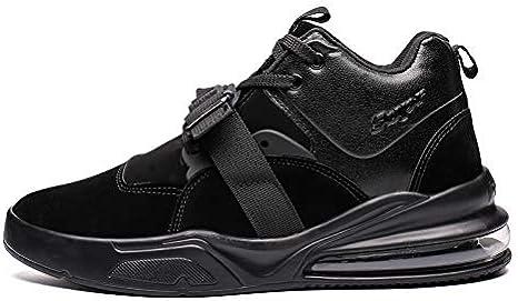 Shoe House Los Hombres De Peso Súper Zapatillas De Running Fitness Zapatos De Entrenamiento,Black,EU40/US7D(M)/UK6.5: Amazon.es: Deportes y aire libre