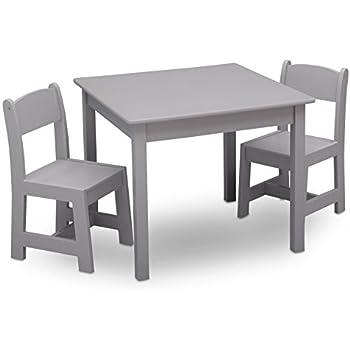 Amazon.com: Delta Children Windsor Table & 2 Chair Set, Aqua: Baby