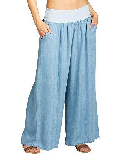 CASPAR Fashion Jeans - Femme Bleu Clair
