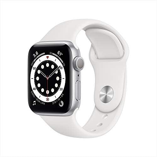 ساعت هوشمند اپل واچ (Series 6 (GPS, 40mm - Silver Aluminum