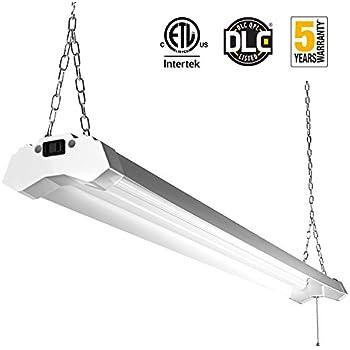 Linkable LED Utility Shop Light 4ft 4800 Lumens Super Bright 40W 5000K Daylight ETL Certified LED  sc 1 st  Amazon.com & Amazon.com: Lithonia Lighting 1242ZG RE 2-Light T8 Strip ... azcodes.com