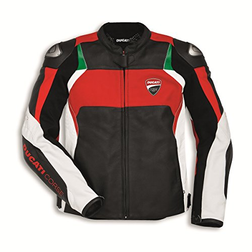 (Ducati Corse C3 Perforated Leather Jacket 9810374 (52) )