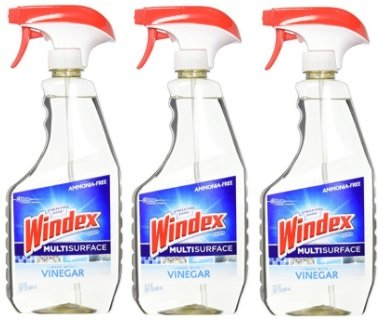 Windex Vinegar Multi-Surface Cleaner, 23.0 Fluid Ounce (3 Pack) by Windex