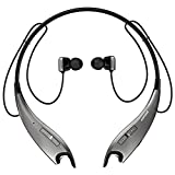 Mpow Jaws Gen-3 Bluetooth Headphones Wireless Neckband Headphones w/ 13 Hours Playtime & CVC 6.0 Noise Cancelling Mic