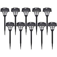 10-Pack Hecarim Solar Pathway Lights (Pattern B)
