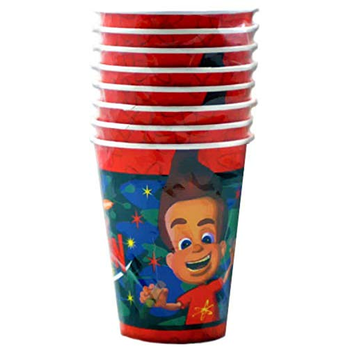 JIMMY NEUTRON 9oz PAPER CUPS (8) ~ Birthday Party Supplies Beverage Drinking -