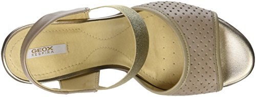 Beige Jadalis Women's D Toe C C5004 Geox 4 Open Sandals Sand Black 4w7q7
