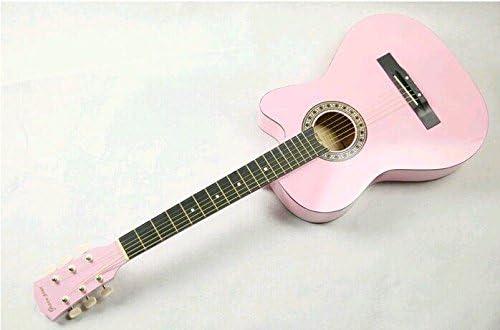 X-XIN - Los alumnos de guitarra Folk, color rosa: Amazon.es ...