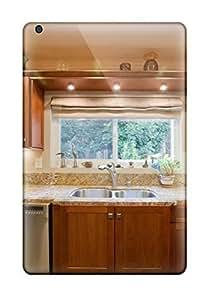 For UkvCrAk8955qHITU Neutral Kitchen Sink With Granite Counter Protective Case Cover Skin/ipad Mini/mini 2 Case Cover