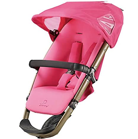 New Quinny buzz replacement seat unit models in various colours blue pink red purple black (PRECIOUS PINK (BRONZE FRAME))