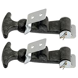 Rubber Hood Latch Strap Kit For John Deere Compact Tractor YM1500 1700 2000