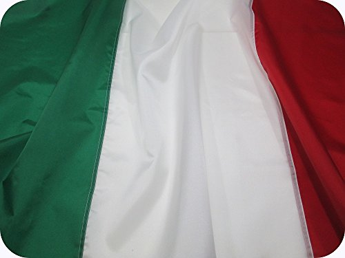 - Italian Flag 3x5 ft - Beautiful, Durable, All Weather Nylon, Italy Flag with Fully Sewn Vibrant Stripes - UV Fade Resistant with Grommets – 100% Made in The USA