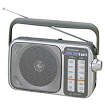 Panasonic RF-2400 AM / FM Radio, Silver
