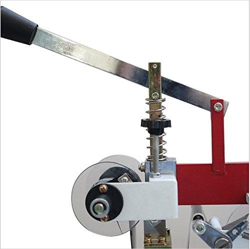 60W Manual hot stamping machine printing machine hot stamping tool thermal ribbon printer plastic bags Steel seal code 220V by YJINGRUI (Image #4)