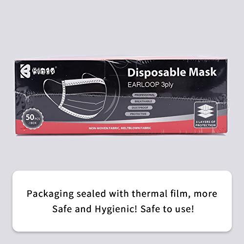 Bigox Face Mask Black 50Pcs