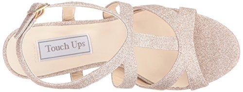 Robe Sandale Champagne Femmes Queenie Plate forme De Ups Toucher wxp6A4qan