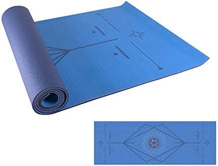 Redlemon Tapete de Yoga, Yoga Mat de 6mm de Grosor, Diseño Bicolor Ultrasuave, Antideslizante, Resistente, Flexible, Fácil de Limpiar, Enrollable. Ideal Para Pilates, Fitness, Meditación y más 3