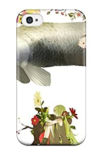 Hot Snap-on Vocaloid Hard Cover Case/ Protective Case For Iphone 4/4s