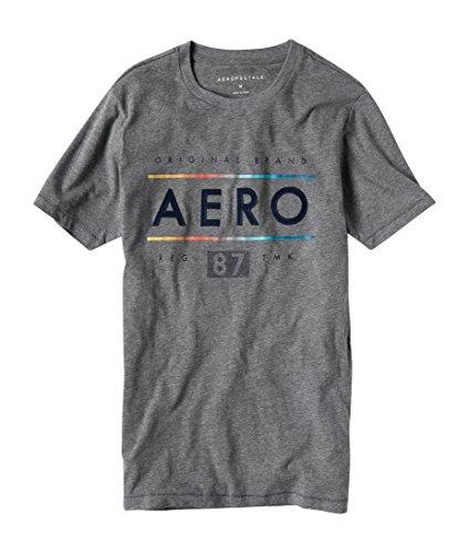 Aeropostale Original Brand Aero Graphic Tee XXLarge Med Grey