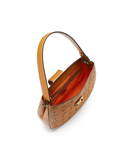 Womens Visetos Medium Patricia Cognac MCM Hobo Pqd8fqav